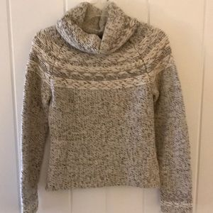 GAP Chunky Wool Blend Cowl Neck Sweater